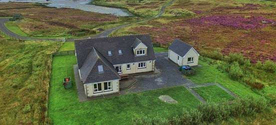 South Uist Accommodation - Heron Point, Lochboisdale